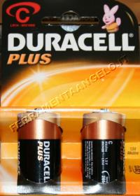 Batterie Duracell 1/2torcia