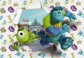Fotomurale Komar Disney monsters cm 368 x 254